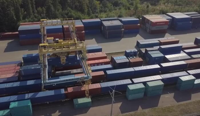 В Україну прибув 50-й прямой контейнерний поїзд з Китаю