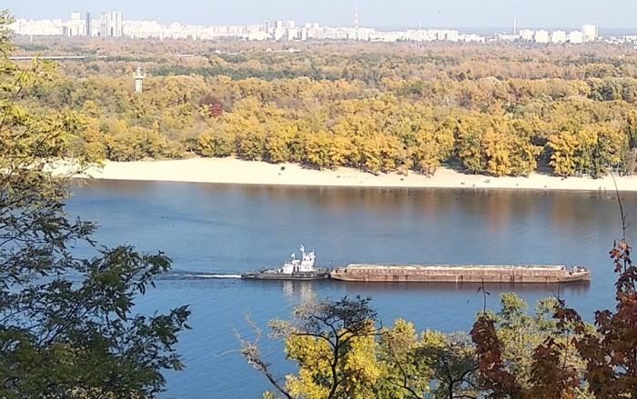 Обсяги транспортування будматеріалів Дніпром зросли на 70% за дев'ять місяців 2021 року