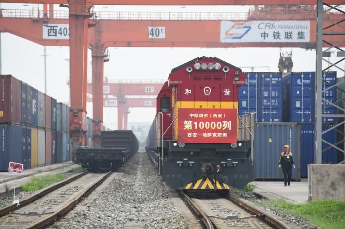 В Китае для обслуживания ж/д грузоперевозок Китай-Европа создана трансграничная блокчейн-платформа