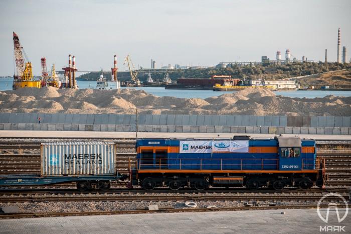 Запущен новый контейнерный поезд по маршруту терминал ТИС - Чернигов