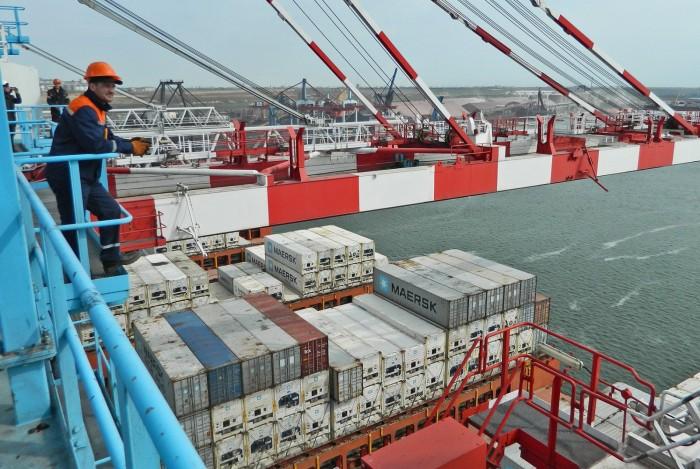ТИС достиг максимального месячного контейнерооборота за 8 лет