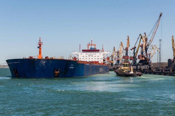Українські порти за 7 місяців 2019 року перевалили більше вантажів, ніж за 8 місяців минулого року