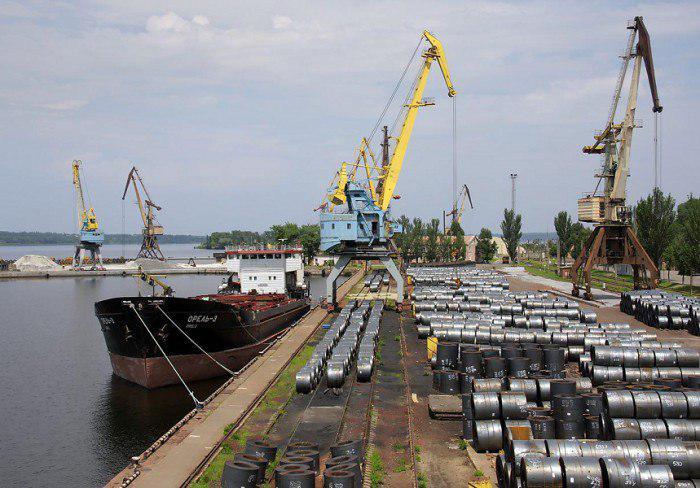 В 2019 году перевозки металлопродукции по Днепру выросли на треть