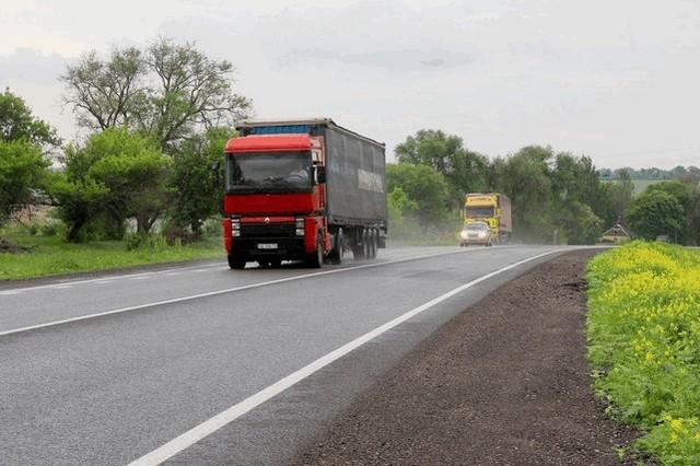 В Украине увеличат штрафы за перегруженные фуры