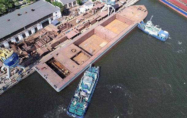 Спущено на воду крупнейшее судно в истории независимой Украины