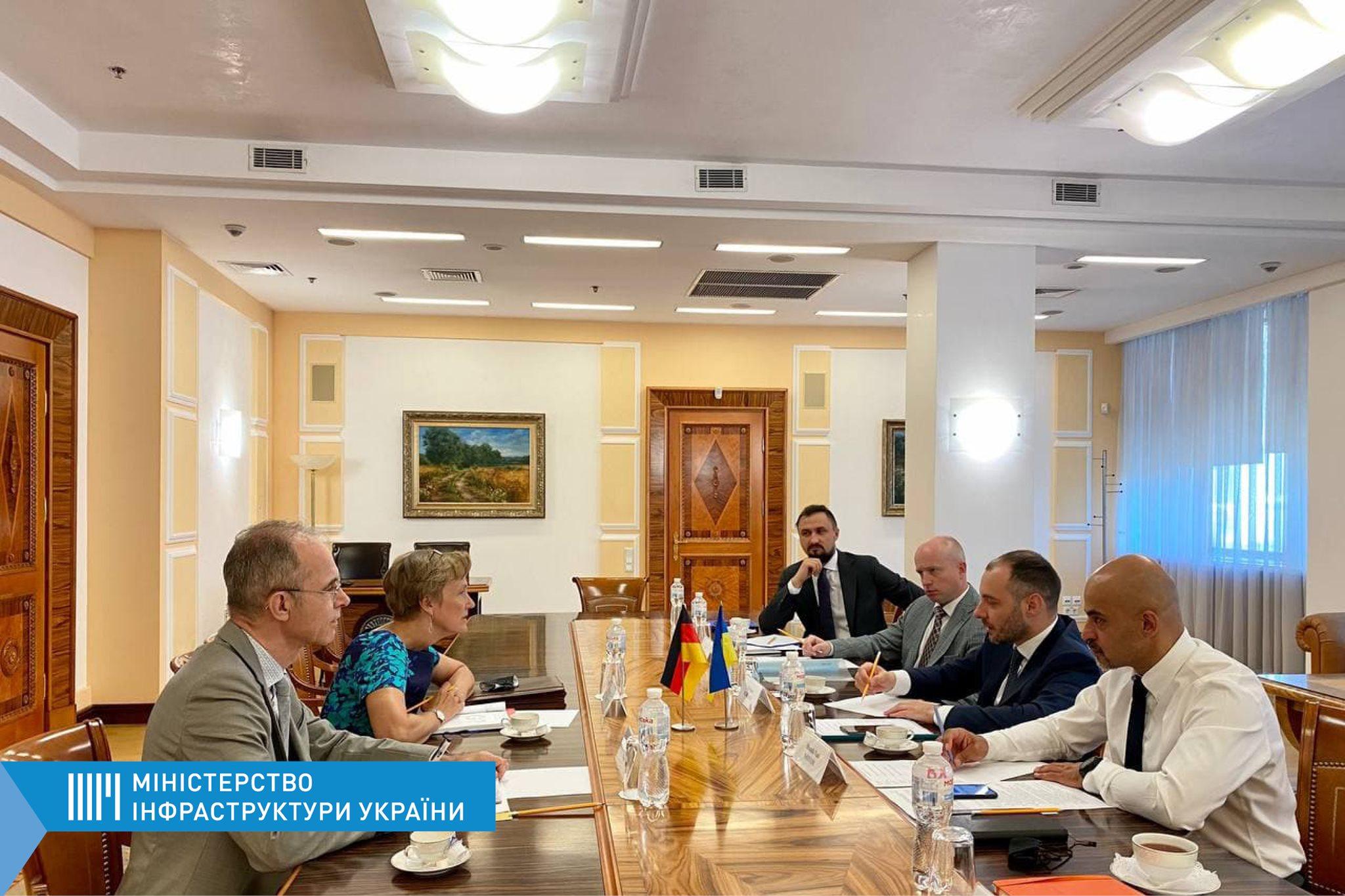Украина готова перенимать опыт Германии в управлении инфраструктурными проэктами
