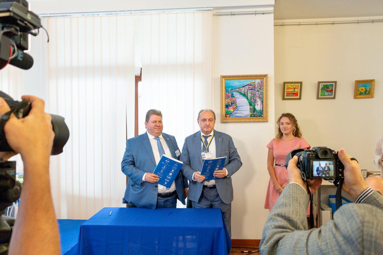 Урочистості з нагоди 20-річчя ІСС Ukraine