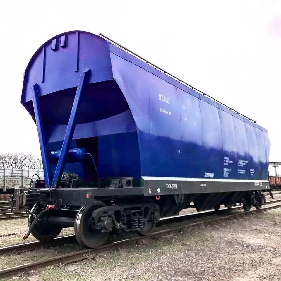 В Украине разработали вагон-зерновоз