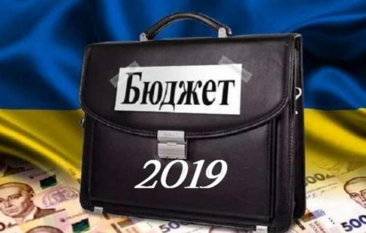 Принят госбюджет на 2019 г.