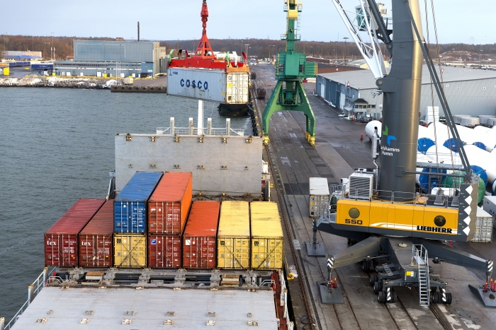 «Евротерминал» построит контейнерный терминал и ж/д пути в Одеском порту