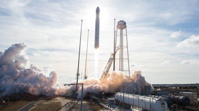 Українсько-американська ракета Antares вивела на орбіту корабель з вантажем для МКС