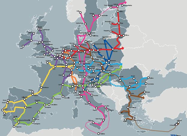 КМУ одобрил привлечение 450 млн евро кредита ЕИБ на развитие транспортной сети TEN-T