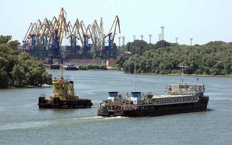 Перевозки грузов по Днепру с начала года выросли на 70%